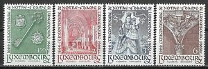 1966 LUXEMBOURG Complete set of 4 MNH Stamps (Scott # 436-439)