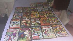 LOT OF REISSUED SPIDERMAN 1960s COMICS