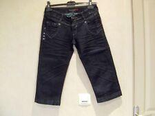 pantacourt jeans bleu  taille us W25  eur T34