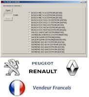 Renault pin extracteur et Peugeot Pin ECU EXTRACTOR PSA PINCODE pin ECU 2en1
