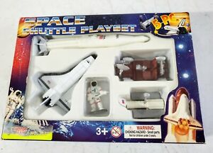 MotorMax Space Shuttle PlaySet Die Cast Metal and Plastic #76322 Playset