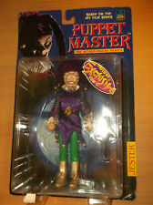 """FULL MOON  TOYS: PUPPET MASTER, """"JESTER"""", FROM THE HIT FILM, 1998, NEW/UNOPENED!"""