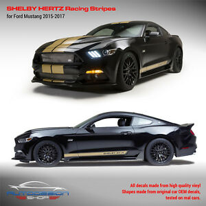 Mustang Shelby Hertz Racing Stripes set 2015 2016 2017