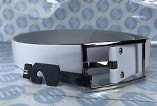 Ladies And Men's Genuine Leather Belt White Colour Size M 45mm Wide X 104cm Long