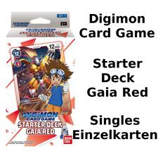 Digimon ST-1: Starter Deck Gaia SINGLE CARDS ENGLISH Einzelkarten