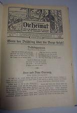 Die Heimat~ 27.Jahrgang /Thüringen Eisenach 1928/ für die Schuljugend Thüring