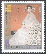 Austria 2012 Gustav Klimt/artistas/Arte/Pintura/Mujer/contemporáneo 1 V (n42229)