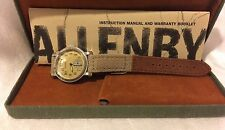 NEW Vintage ALLENBY & CO - Chronograph Swiss Movement Leather Band - Watch