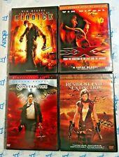 4 Dvd Lot The Chronicles Of Riddick Xxx Constantine Resident Evil Extinction
