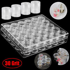 Embroidery Storage Container Beads Box Transparent Diamond Painting Accessories