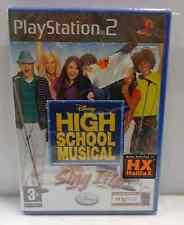 Console Game SONY Playstation 2 PS2 PAL ITALIANO HIGH SCHOOL MUSICAL SING IT! -