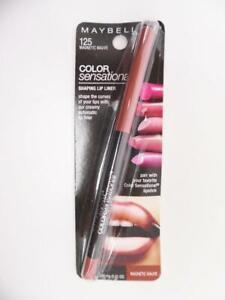 Maybelline Color Sensational Shaping Lip Liner Makeup 125 Magnetic Mauve 0.01oz.