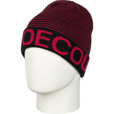 New DC Boy's Youth Bromont Boy Reversible Acrylic Beanie Anthracite Red