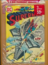 DC Super Pac B-3 Superman 262, Mister Miracle 13, Wanted 7 NM  sealed...
