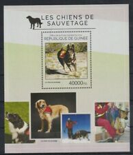 E405. Guinea - MNH - 2014 - Nature - Animals - Dogs - Bl.