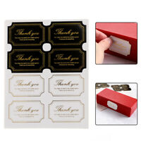 Adornment Thank You Handmade Sticker Festival Decoration Gift Boxes Seal Label