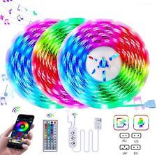 LED Strip Lights Bluetooth 65ft 20m Sync Music TV Rooms Atmosphere Strip Lights