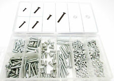 220pc Nut Bolt Assorted Phillips Dome Head Bolt-Screw Metric M5 M6 HW020