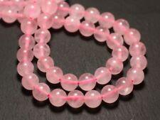 10pc - Perles de Pierre - Quartz Rose Boules 8mm   4558550037930