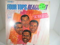 The Four Tops Reach Out- Motown S 660, 1967 Stereo  Shrink VG++ c VG+