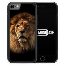 IPhone 8 GUSCIO IN SILICONE-Leone Lion foto-soggetto design animali bello Ragazzi Uomini
