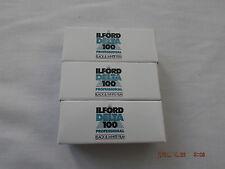 Ilford Delta 100 Pro 120 Film (3 Pack) *CHEAPEST*