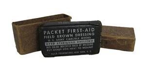 Original US M42 First Aid Field Dressing - WW2 Army Military Medical Surplus