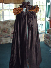 color of you choice brown Velvet Civil War Dress Style Cape Irish kinsale cloak