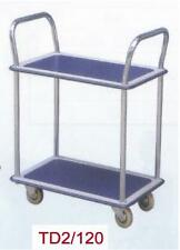 W&J Platform Trolley 2 Shelves - NEW VAT Incl.