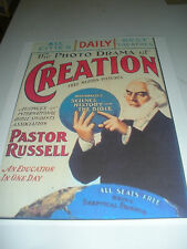 PHOTO-DRAMA OF CREATION POSTER Watchtower Jehovah IBSA