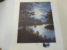 Silent Cove by Franklin Saye Artist Proof #75/75