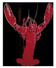 ANDY WARHOL - LOBSTER, 1982 - POP ART PRINT POSTER 11x14 OUT OF PRINT LAST ONES