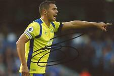 EVERTON: PHIL JAGIELKA SIGNED 6x4 ACTION PHOTO+COA