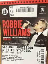 Robbie Williams MANCHESTER tickets x 3 (09/06/17)