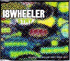 18 WHEELER - STAY - 4 TRACK CD SINGLE