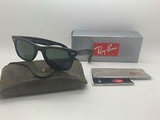 NEW Rayban Tortoise Distressed Wayfarer Sunglasses RB2140 1185 50MM