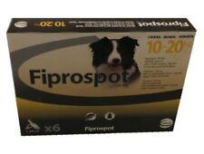 Fiprospot anti puces Chien 10/20kg 6 pipettes (generique Frontline)