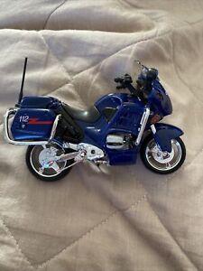 Model motorcycle BMW R 1200 Rt Carabinieri 1:12 Motor Bike diecast