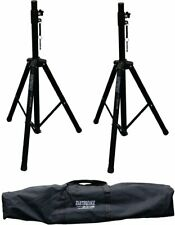 Earthquake Sound 2B-St35M Heavy Duty Speaker Stands With Carry Bag, Max Weight O