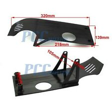 BLACK SKIDPLATE UNDER ENGINE PIT BIKE XR50 CRF50 PROTECT ENGINE CASE H SP01