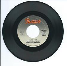 """1976 BURTON CUMMINGS """"STAND TALL"""" 45rpm 7"""""""