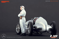 1/18 Hermann Lang figure VERY RARE !!! for 1:18 Autoart Exoto CMC Mercedes