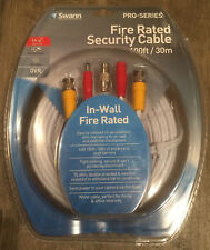 Oem Swann 100ft Fire Rated Security Cable Bnc Swpro Pro Series