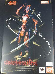 Deadpool Manga realization Kabukimono figure Ban Dai Tamashi Nations