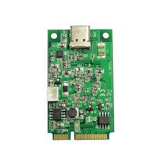 Mini PCI-e to USB3.1 Type-C Card Mini itx board to USB-C Female Thunderbolt 3.0
