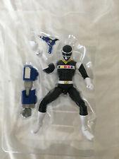 "Power Rangers Legacy In Space 6"" Black Ranger Figure New in Plastic Bubble"