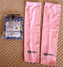 *NEW* WHIPS pair of solar sleeves -PINK- Top quality -Unisize- stay cool & safe