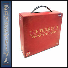 THE THICK OF IT - COMPLETE SERIES 1 2 3 & 4 **BRAND NEW DVD BOXSET**
