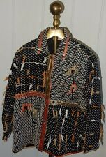 BEAUTIFUL MONTEREY BAY CLOTHING COMPANY BUTTON JACKET MADE IN NEPAL ~ SIZE L