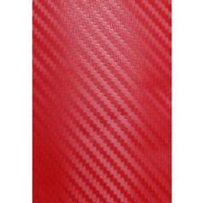 Rojo De Fibra De Carbono Protector Alféizar Paso de la puerta de efecto protectores (DSP02R) MC18/02